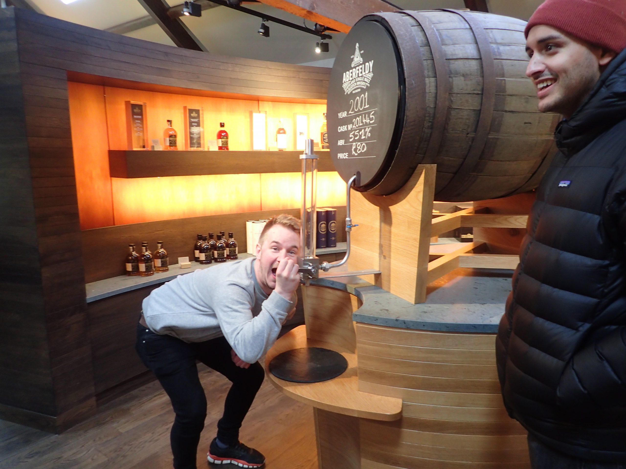 Dewars Distillery Tour