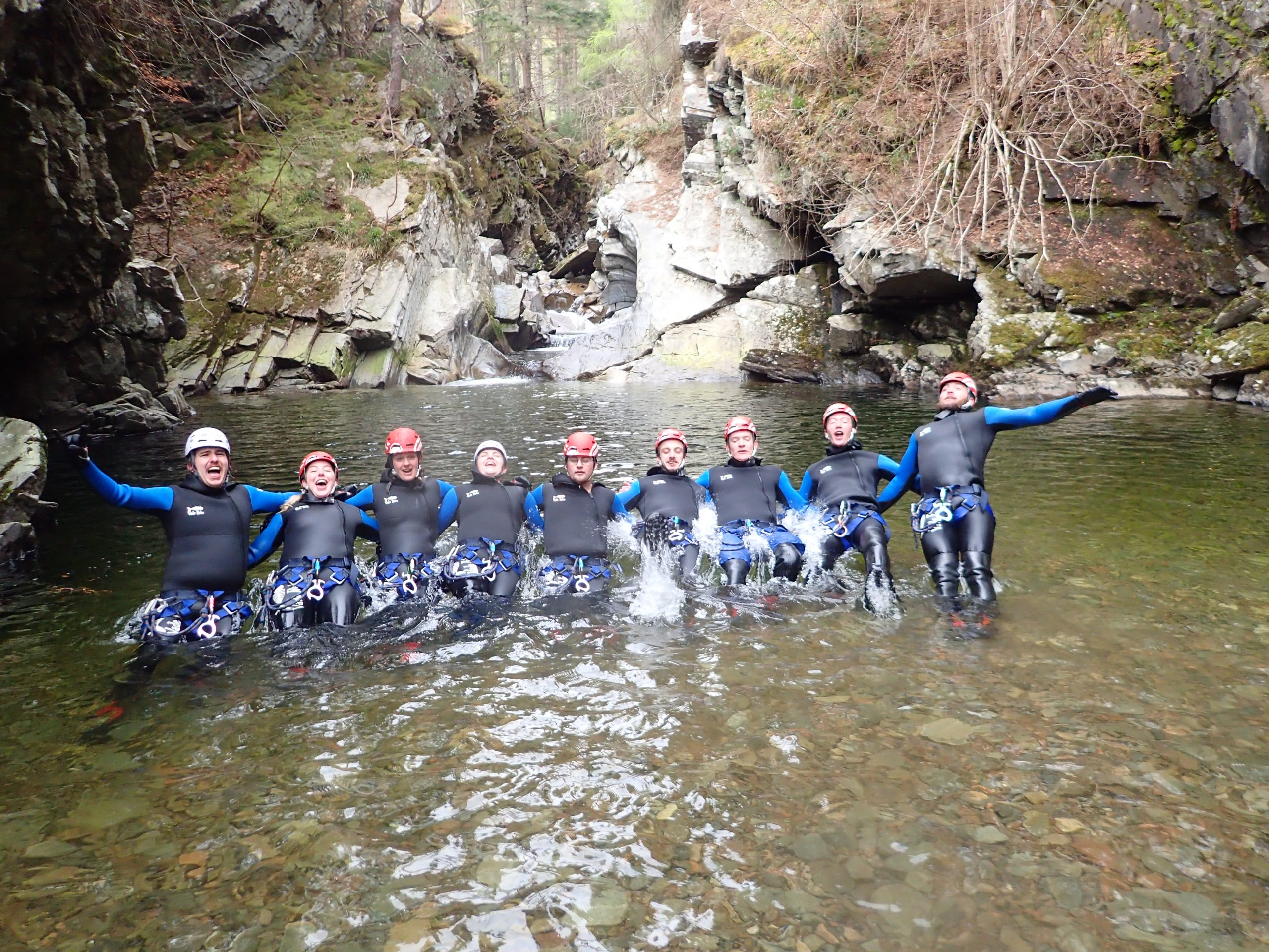 Stag Canyoning